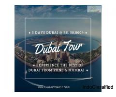 Experience  Dubai Tour Package from Mumbai, Ahmedabad and Surat with Flamingo Travels