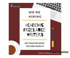 Hiring Freelance Online Academic Writers in India – Get Paid