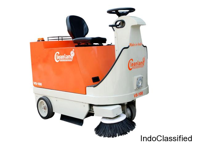 Ride on Battery Operated Sweeping Machine from Gujarat, INDIA