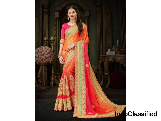 Latest Sarees online on Mirraw