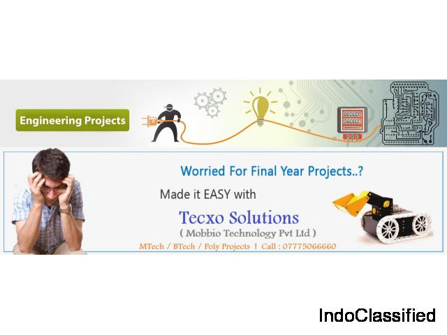 Final year Engineering Projects at lowest cost (Mechanical/Electronics/Electricals/Software/Civil)
