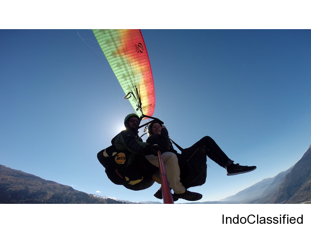 Best Paragliding and Adventure Sports Actvities in Manali.