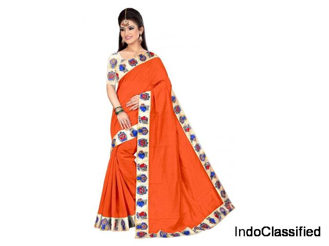Latest Chanderi Sarees online on Mirraw