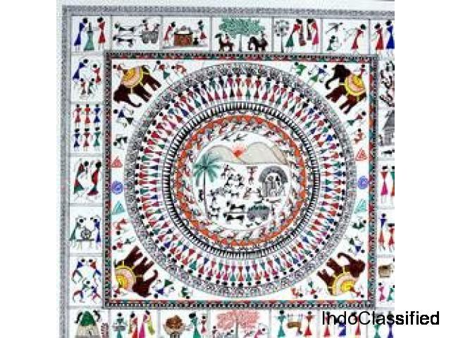 Buy Warli paintings & designs Online at Gallerist.in.