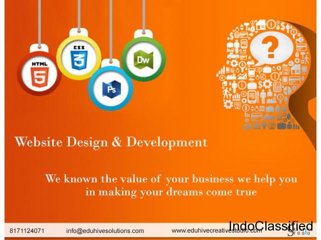 best web design and creative agency in Dehradun
