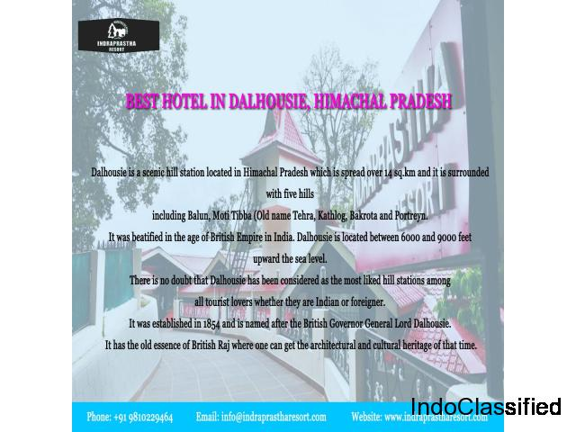 Online Hotel Booking Service Provider in Dalhousie at Indraprastha Resort