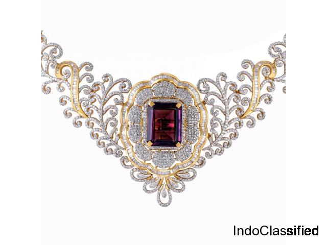 Wedding Wear Diamond Jewellery