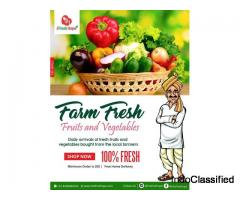 Best quality Fresh fruits and vegetables in chandigarh