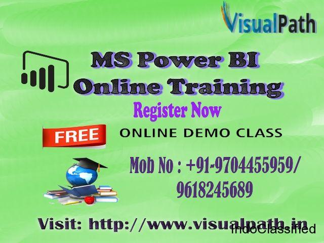 Ms Power Bi Online Training Best Ms Power Bi Training In Hyderabad