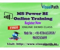MS Power BI Online Training | Best MS Power BI  Training in Hyderabad