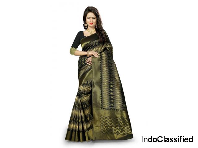 Buy Latest Kanchipuram Silk Sarees online on Mirraw