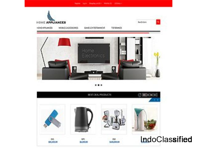 Ready Made E-commerce Website Templates