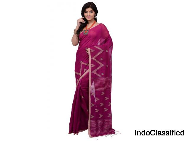 Buy Latest Handloom Sarees online on Mirraw