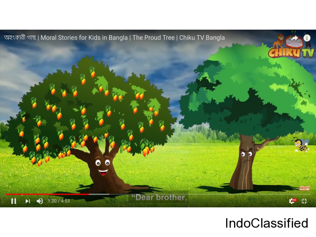 The Egoistic Tree | Moral Stories for Kids in Bangla