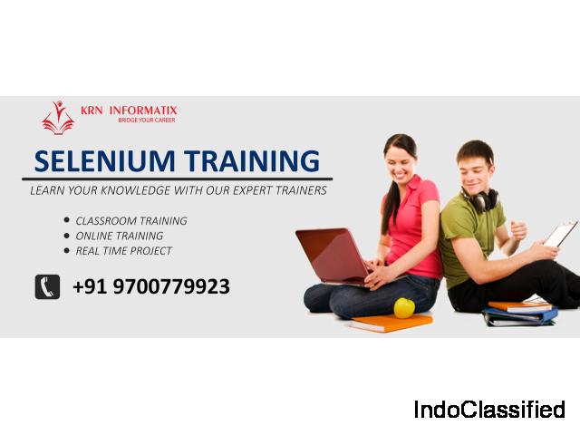 Selenium Training in Bangalore | Selenium Software Training in Bangalore