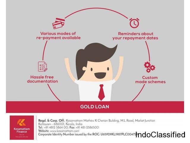 Loan Against Gold |Gold Loan -Kosamattam Finance