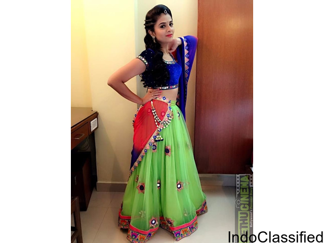 Light Green Georgette Embroidery Work Lehenga Choli