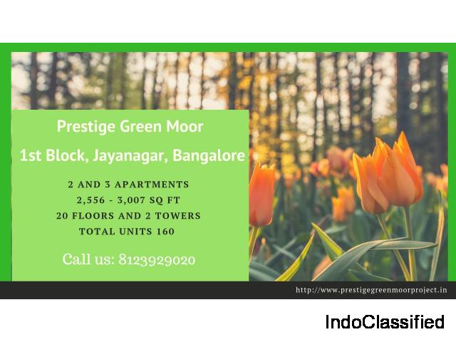 Prestige Green Moor | Upcoming Project | Jayanagar 1st Block Bangalore