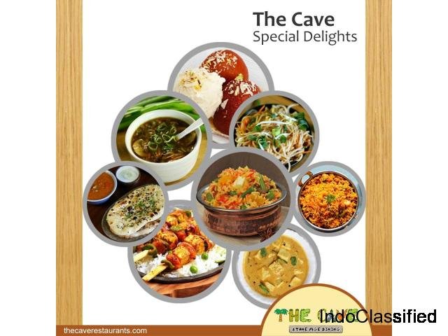 The Cave-Best veg Restaurant in Kolkata