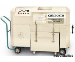Semi automatic organic waste converter machine manufacturers in India - 500 kg