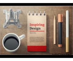 Pen mockups psd template –Creative Template