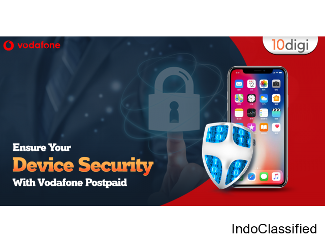 Ensure your device security with Vodafone postpaid