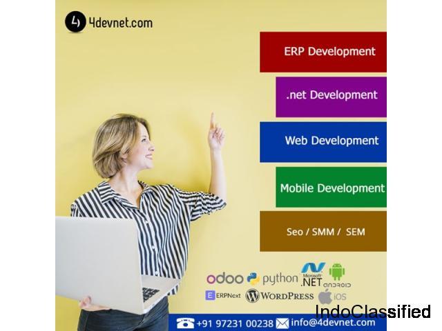 Cheap ERPNext Solutions & Services Provider Company : 4devnet.com