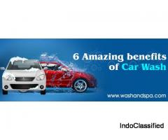 Amazing Benefits of Car Wash : Wash & Spa
