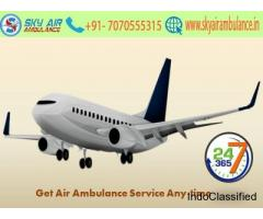 Get Top-Class Air Ambulance Service in Guwahati by Sky Air Ambulance