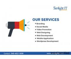 Sunlight IT Web Design Services, Hyderabad
