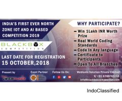BlackBox - AI Competition in India