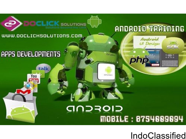 Java and android training program with certificate and 100% job offer  @ 8754009094