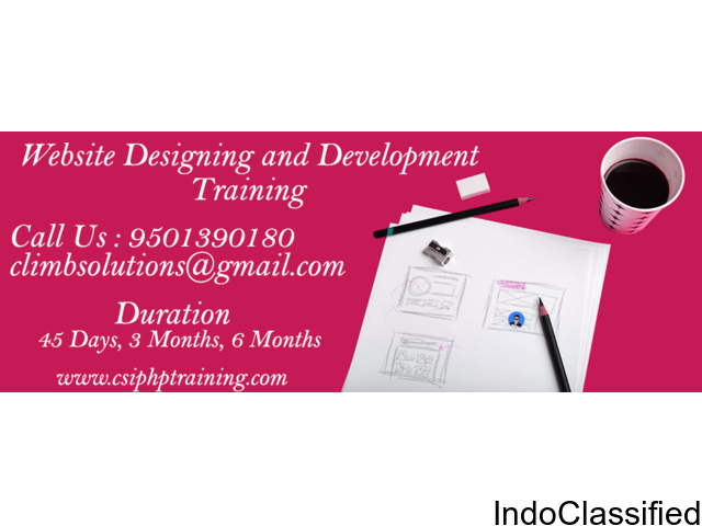 Best PHP and Web Designing Development Training in Zirakpur.