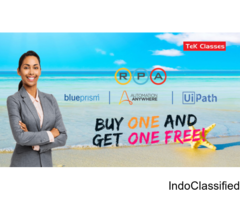 Buy one get one free [Enroll one RPA course and get one RPA self paced course free]
