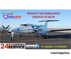 Avail Most Secure Shifting by Medilift Air Ambulance Services in Delhi