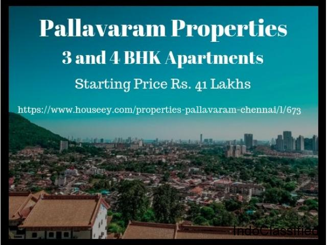 2 and 3 BHK Apartments in Pallavaram - New Projects coming up. Call today for Booking