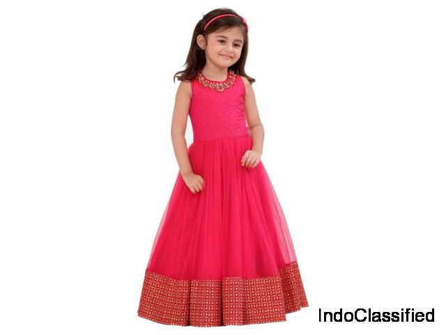 Exclusive Collection of Girls Kid Clothing at Mirraw | Shop Now