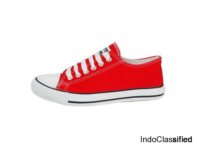Casual Shoes For Women, Cary Women Red Casual Shoes