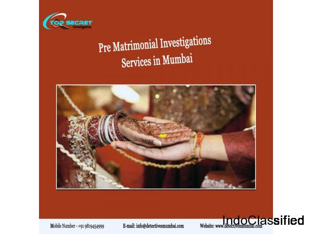 Uparalleled Detectives for Pre Matrimonial Investigation