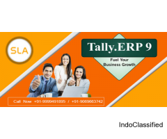 How Learning Tally ERP 9 Can Help to Boost Your Career?  Join SLA Consultants Noida