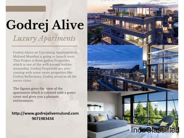 Godrej Properties Mumbai   Godrej Alive Mulund   9071983434