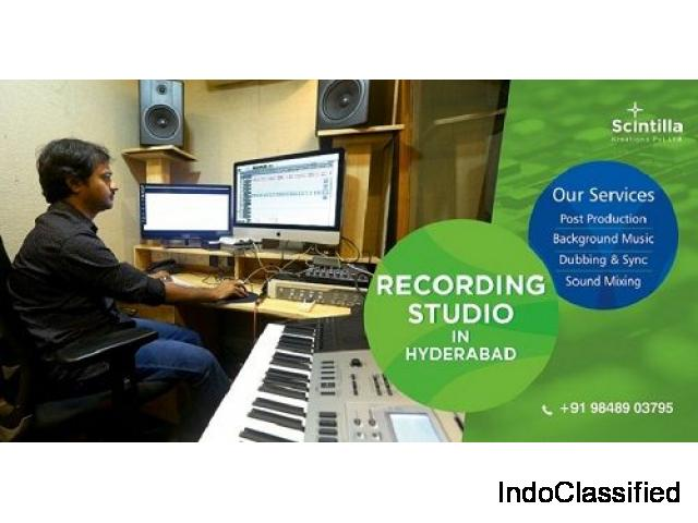 Post Production Services In Hyderabad|Camera On Rental