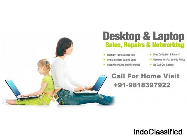 Computer Dr. Offer Onsite Laptop Repair solution in Delhi NCR