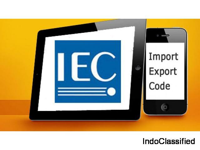 IEC Code Registration in Noida   IEC Code Online
