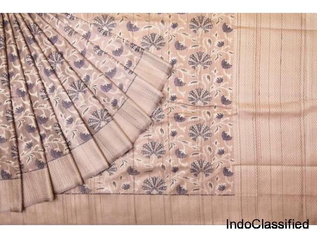 online shopping for banarasi tussar sarees collection @brand singhanias 2018