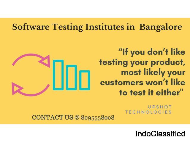 Upshot is finest training institute for Software Testing  in BTM, Marathahalli Bangalore