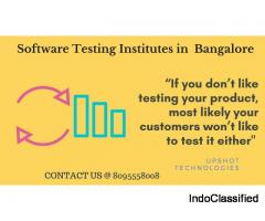 Upshot is finest training institute for Software Testing  in BTM, Marathahalli Bangalore