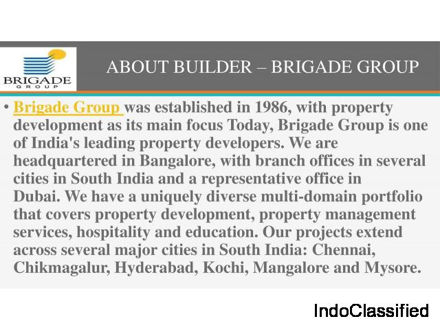 Brigade Group Pre Launch Flats In Varthur Road, East Bangalore