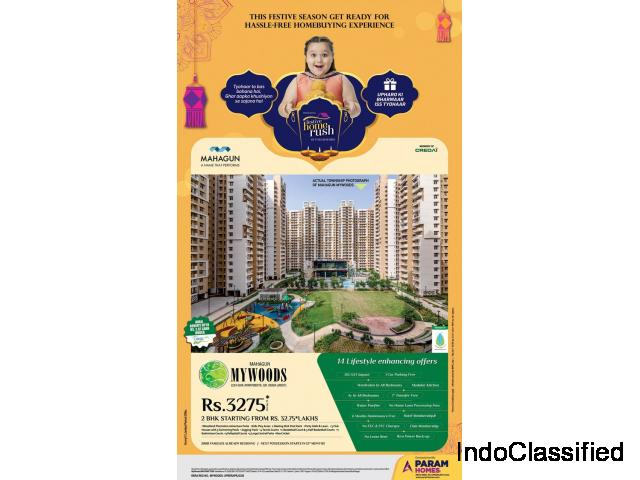 New Age Apartments at MAHAGUN MYWOODS Sector-16C, Greater NOIDA WEST