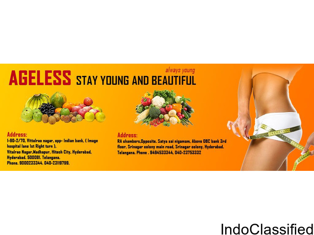 Slimming and Beauty care center in hyderabad